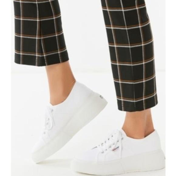 Superga Cotu Platform Sneakers Nwt
